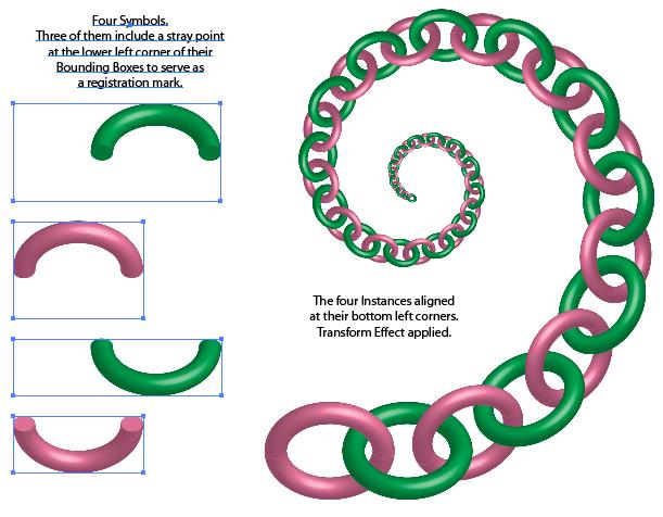 Best way to make a chain | Adobe Community