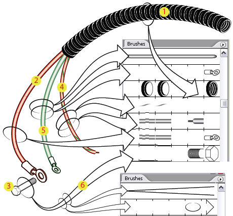 Solved: Drawing wires / cables in Illustrator - Adobe ... on thru-hole drawing, heart charm drawing, manufacturing drawing, united states drawing, wingnut drawing, wireframe drawing, blanking and piercing, interlocking drawing, a marker drawing, sheet metal, die cutting, tube drawing, deep drawing, draw plate, voltage drawing, superplastic forming, hemming and seaming, bar drawing, rigging drawing, flux drawing, chainlink drawing, filament drawing, blade anime drawing, pvc drawing, woodie drawing, von drawing, metal drawing, wire rope, draw bench, barbed wire,